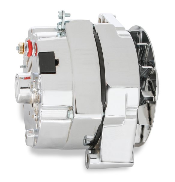 51203CG - Mr. Gasket 1-Wire Alternator - 140 Amp - Chrome Finish - additional Image