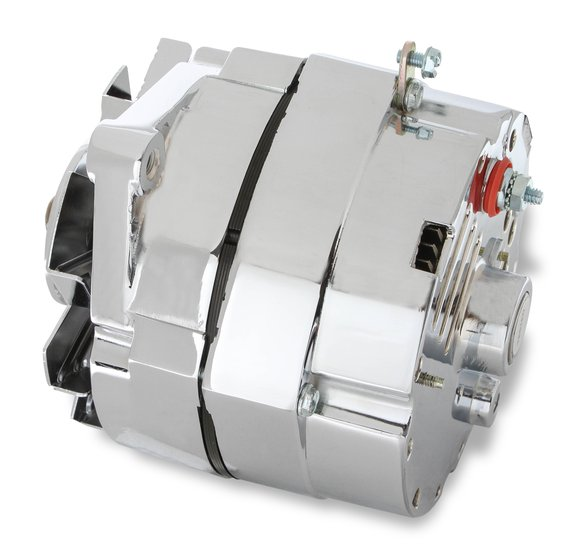 5122 - CHROME ALTERNATOR LATE GM-DELCO 80 Amp - additional Image