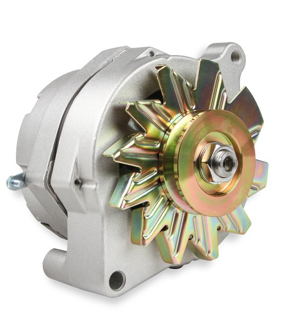51240NG - Alternator - Ford 1961-85 - 100 AMP - Natural Finish Image