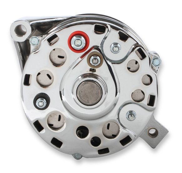 5124 - Mr. Gasket Chrome Alternator-Ford 80 Amp - additional Image