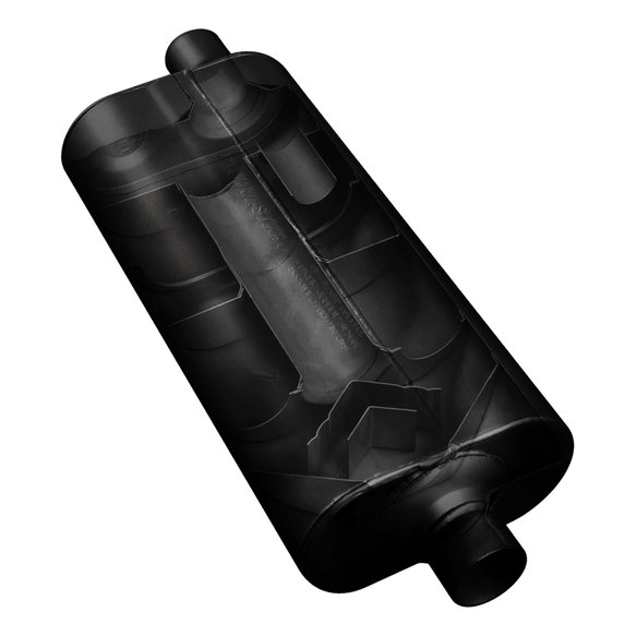 52572 - Flowmaster 70 Series Chambered Muffler - additional Image