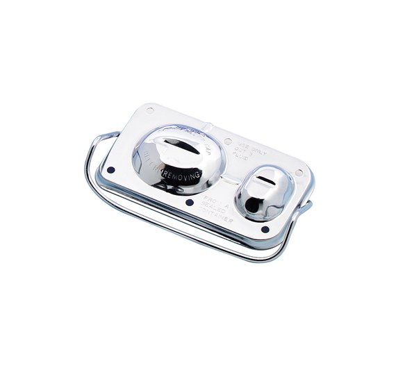 5271 - Mr. Gasket Chrome Master Cylinder Cover Image