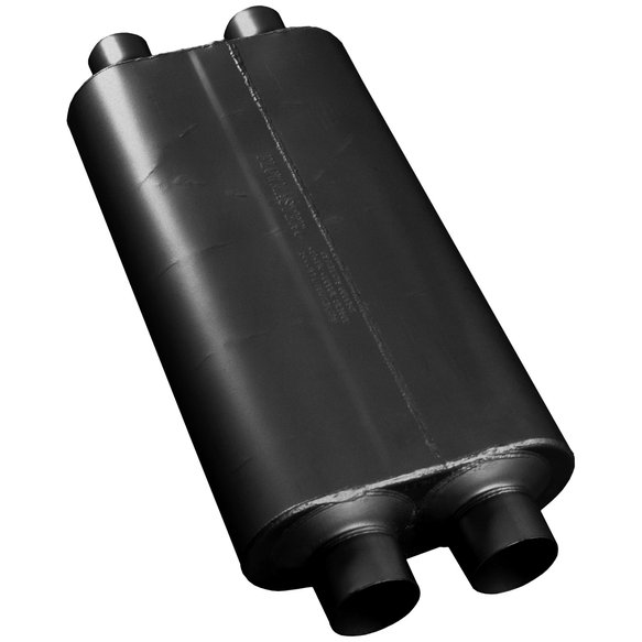 527504 - 50 Big Block Muffler - 2.75 Dual In / 2.50 Dual Out - Mild Sound - additional Image