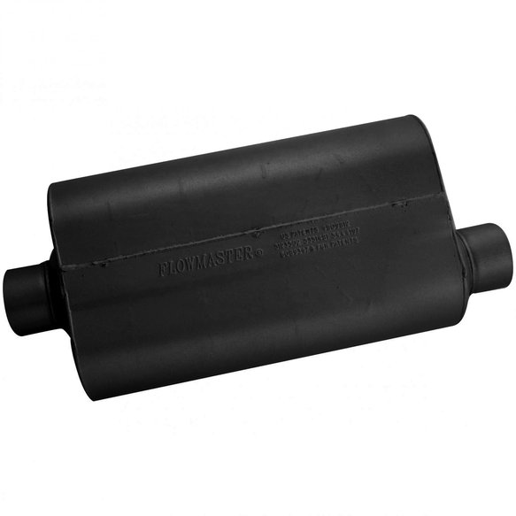 53057 - Super 50 Muffler - 3.00 Center In / 3.00 Offset Out - Mild Sound - additional Image