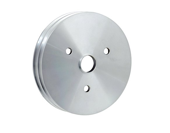 5313 - Mr. Gasket Crankshaft Pulley - Aluminum - Double Groove Image