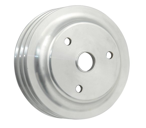 5318 - Mr. Gasket Crankshaft Pulley - Aluminum - Triple Groove Image