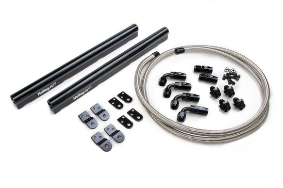 534-210 - LS Hi-Flow Fuel Rail Kit - Includes Hose & Fittings - Fits LS1, LS2, LS3, LS6 & L99 factory intakes Image