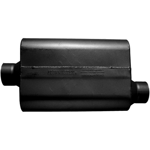 53531-12 - 30 Series Race Muffler - 3.50 Offset In / 3.50 Center Out - Aggressive Sound - additional Image