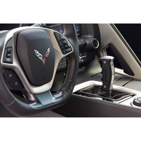 5380441 - Hurst Billet/Plus Pistol Grip Handle for 14-19 C7 Corvette with Automatic Transmission - additional Image