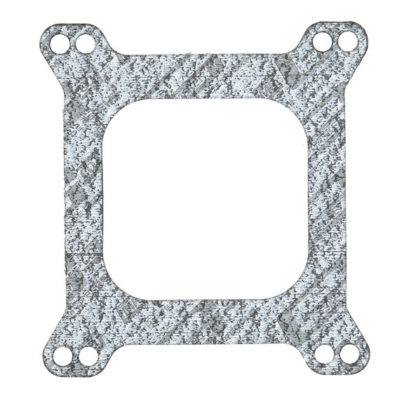54 - Mr. Gasket Carburetor Base Gasket - 4-Barrel - Square Flange - Open Center - Bulk Packaged Image