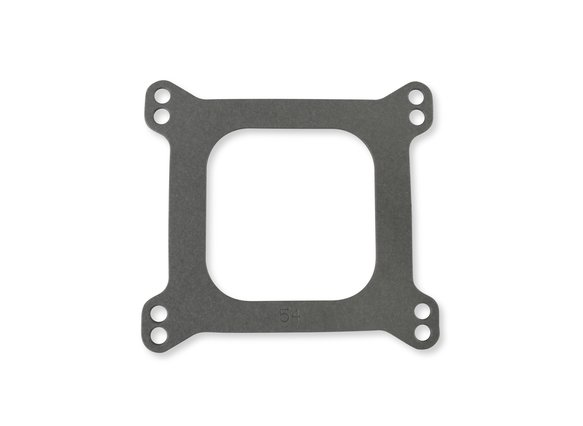 54 - Mr. Gasket Performance Carburetor Base Gasket - 4-Barrel - Square Flange - Open Center - Bulk Packaged Image