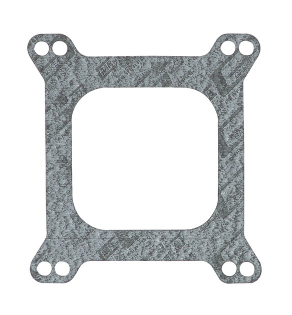 54C - Carburetor Base Gasket - 4-Barrel - Square Flange - Open Center - Skin Packaged Image