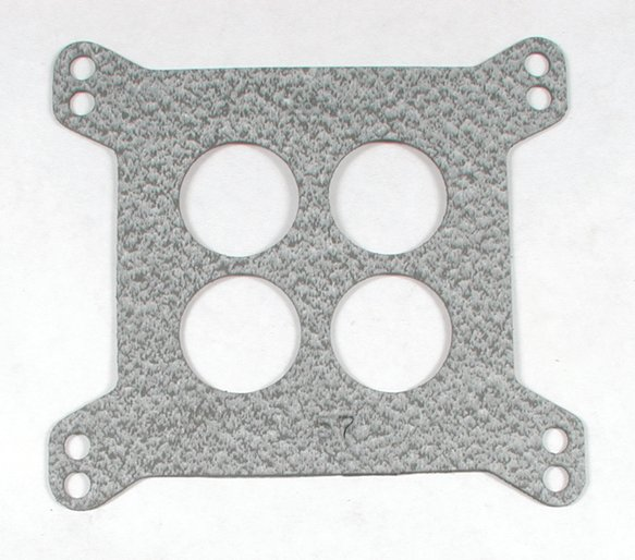 55 - Carburetor Base Gasket - 4-Barrel - Square Flange - 4-Hole - Bulk Packaged Image