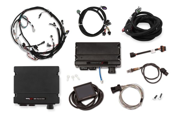 550-1600 - Holley EFI Terminator X GM Gen V LT Early Direct Injection Kit Image