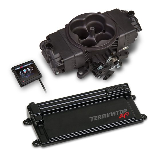550-443 - Terminator Stealth EFI w/ GM Transmission Control -Hard Core Gray Image