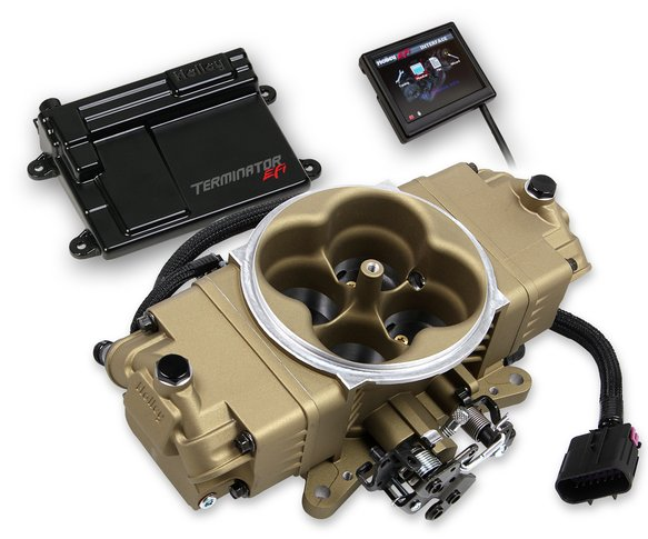 550-444K - Terminator Stealth EFI Master Kit- Classic Gold Finish Image