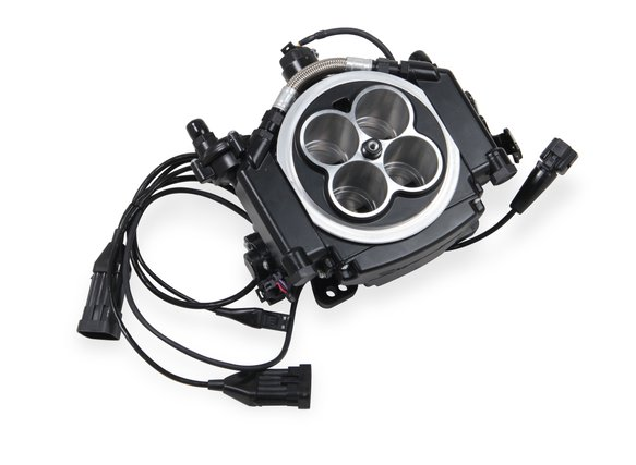 Holley Sniper EFI Self-Tuning Master Kit - Black Ceramic Finish
