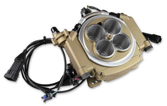 550-516D - Holley Sniper EFI Returnless Master Kit - Classic Gold Finish - additional Image