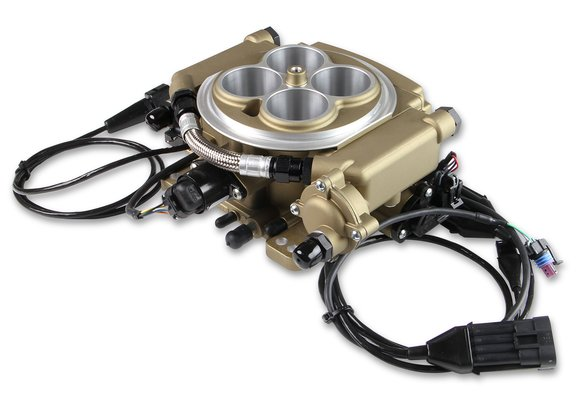 550-516K - Holley Sniper EFI Self-Tuning Master Kit - Classic Gold Finish - additional Image