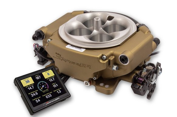 550-542 - Holley Sniper EFI XFlow - Classic Gold Image