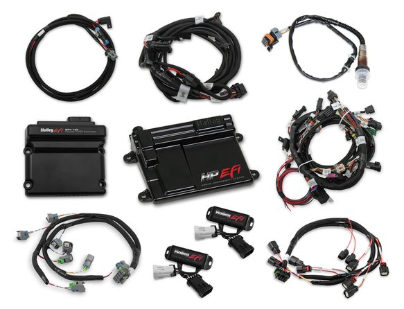 550-619 - 2011-2012 Ford Coyote Ti-VCT HP EFI Kit, BOSCH O2, USCAR INJ Image