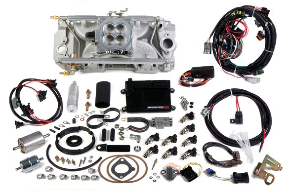 550-836 - Avenger EFI 4bbl Multi-Port Fuel Injection System Image