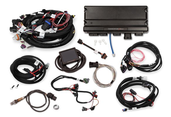 550-926 - Terminator X Max LS1 24X/1X MPFI Kit with DBW Throttle Body and Transmission Control - additional Image