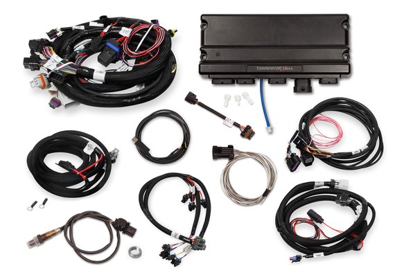 550-927T - Terminator X Max Early Truck 24X/1X LS  with DBW Throttle Body and Transmission Control Kit - Without 3.5
