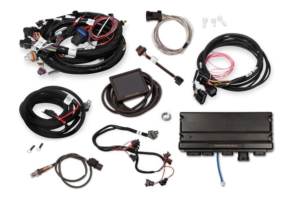 550-930 - Terminator X Max Early Truck 24x /1x LS MPFI Kit with DBW Throttle Body Control - additional Image