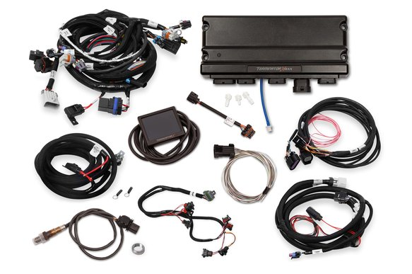 550-935 - Terminator X Max LS2/LS3 and Late 58X/4X LS Truck MPFI Kit with DBW Throttle Body and Transmission Control - additional Image