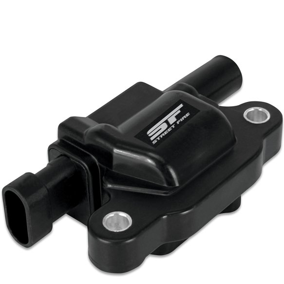 5511 - Street Fire Ignition Coil 2005-2013 GM LS2/LS3/LS4/LS7/LS9 engines, Black, Individual Image