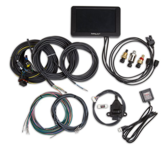 553-109 - Holley Stand Alone Digital Dash Kit Image