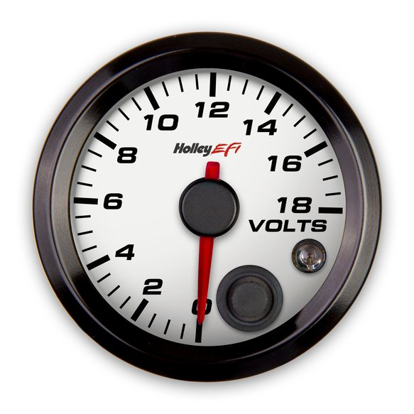 553-126W - Holley EFI Voltage Gauge Image