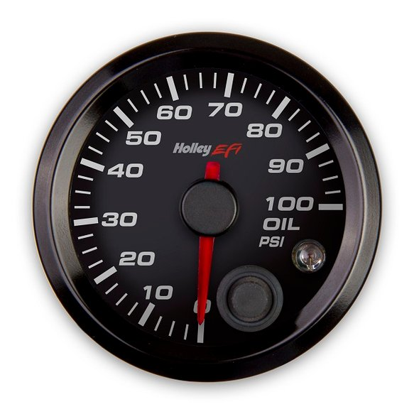 553-127 - Holley EFI Oil Pressure Gauge Image