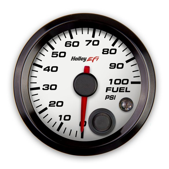 553-129W - Holley EFI Fuel Pressure Gauge Image