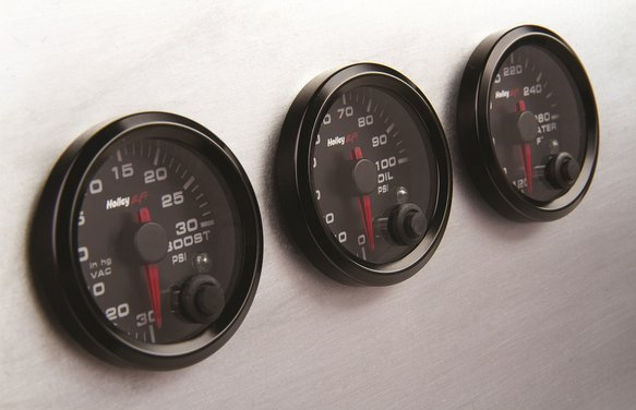 553-127 - Holley EFI Oil Pressure Gauge - additional Image