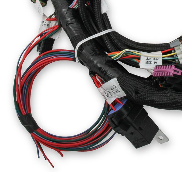 558-110 - Holley EFI Ford Coyote Engine Main Harness w/ Ti-VCT and stock coils (2011-2017) - additional Image