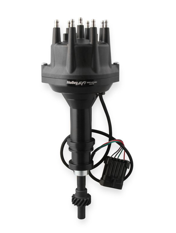 565-201BK - Holley EFI Dual Sync Ford 351W Distributor, Black Image