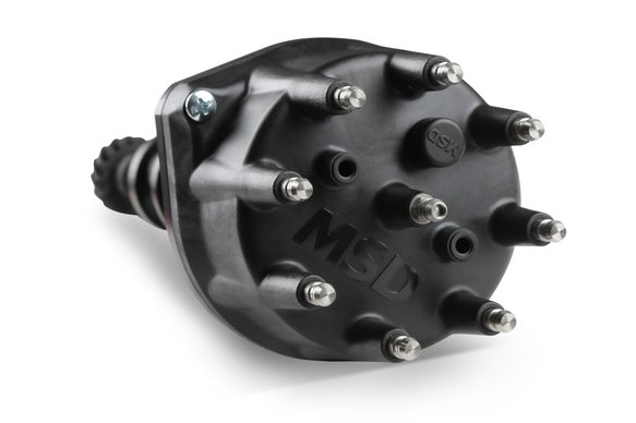 565-301BK - Sniper EFI HyperSpark Distributor - Ford (260/289/302) - Black Billet Housing - additional Image