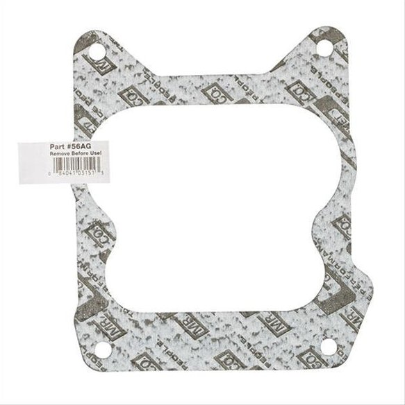 56AG - Mr. Gasket Performance Carburetor Base Gasket - Open Center - Bulk Packaged with UPC Label Image