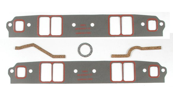 5823 - Intake Manifold Gasket Set - Ultra-seal - 262-400 Chevrolet Small Block Gen I 1955-91 Image
