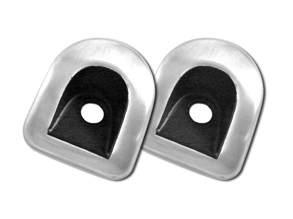 5R3Z-6322050-1A - Drake Muscle Cars 2005-14 Mustang Door Lock Grommet Covers Image