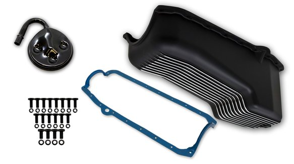 6000FWND - Weiand Aluminum Oil Pan Kit Image