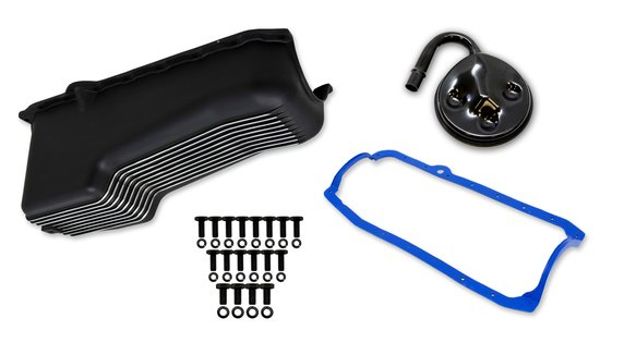 6004FWND - Weiand Aluminum Oil Pan Kit Image