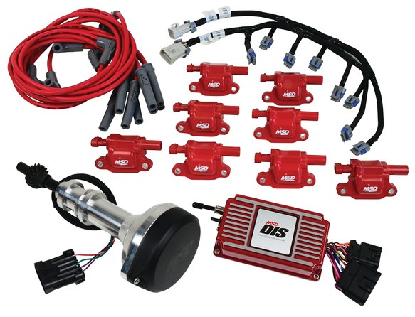 60153 - DIS Kit Small Block Ford, 351W, Red Image