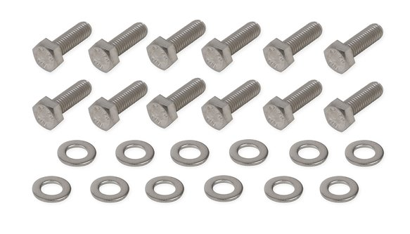 60910G - Mr. Gasket Rear Cover Bolt Set - Stainless Steel Image