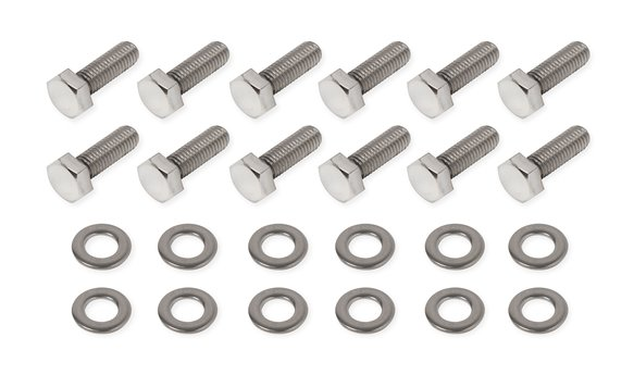 60911G - Mr. Gasket Rear Cover Bolt Set - Polished Stainless Steel Image