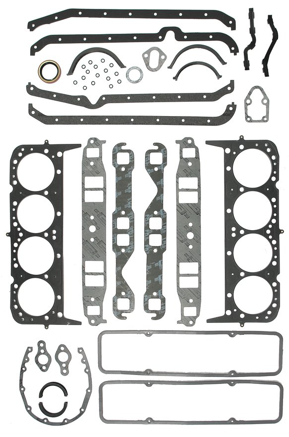 6100G - Premium Engine Overhaul Kit - MLS Head Gaskets - Small Block Chevy 1958-1985 Image