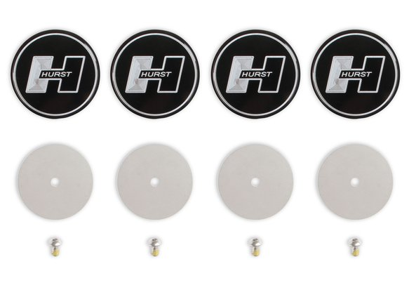 6360006 - Hurst Wheel Center Cap Set - Dodge Image