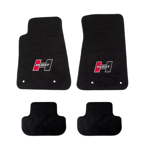 6370000 - Hurst Elite Series Logo Floor Mat Set Image